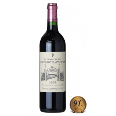 La Chapelle de La Mission Haut Brion 2008 (RP91)