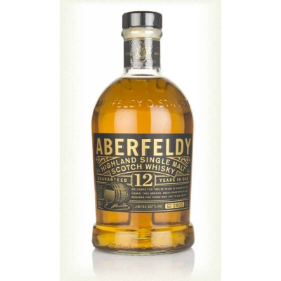 Aberfeldy 12 years old Single Malt Whisky
