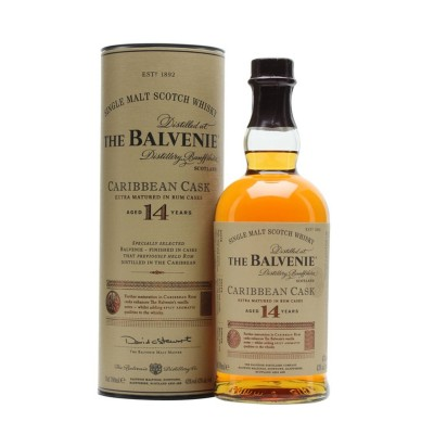 Balvenie 14 years Caribbean Cask Single Malt Whisky