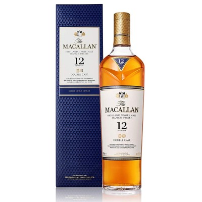 Macallan 12years Old Single Malt Scotch Whisky Double Cask